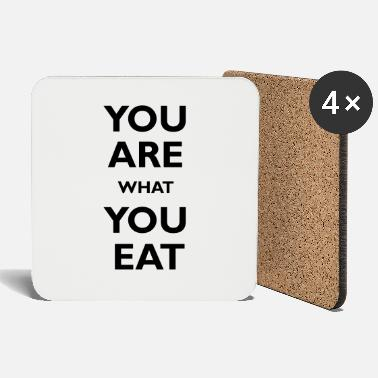 You are what you eat - Posavasos