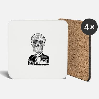 Day Of The Dead BBB-Day-Of-The-Dead-BLACK - Coasters