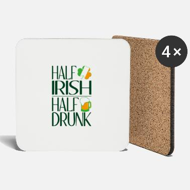 Beer Half Irish half drunk - Coasters
