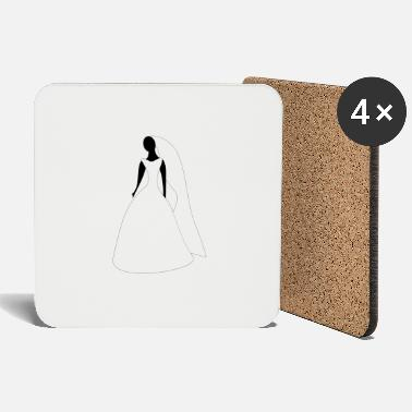Wedding Dress Women wedding dress - Coasters