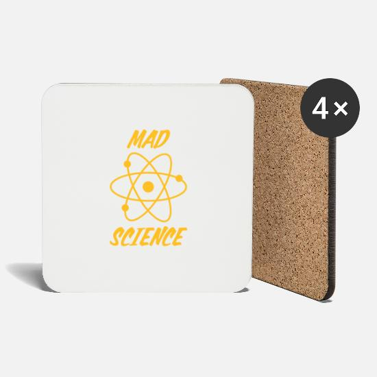Sheldon Tassen & Becher - mad science - big bang - Untersetzer Weiß