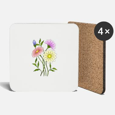 Blume flowers - Coasters