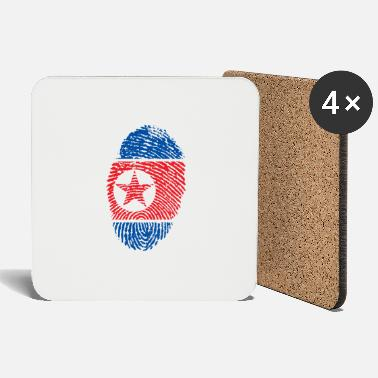 North Korea NORTH KOREA NORTH KOREA GIFT T-SHIRT - Coasters