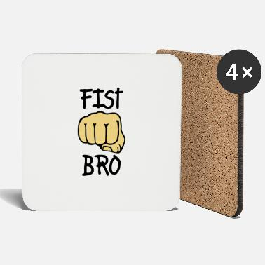 Fist Fist - Brother Fist - Box - Boxing - Coasters