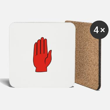 Ulster red_hand - Coasters