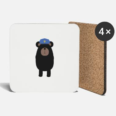 Cop Grizzly COP - Coasters