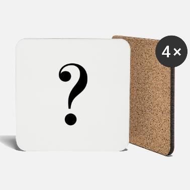 Mark Something question mark - Coasters