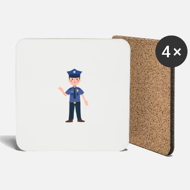 The Office Police officer - Coasters