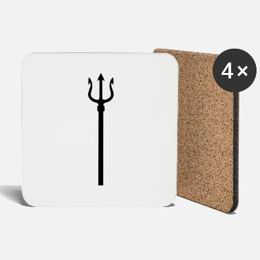 Shiva With Trident trident - Coasters
