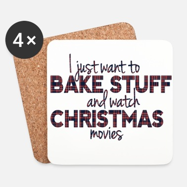 Ruter Bake Stuff and Watch Christmas Movies - Underlägg (4-pack)