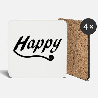 Happy happy and happy - Coasters