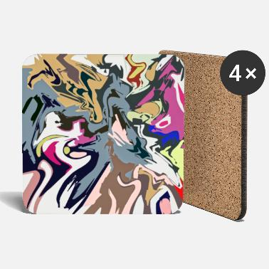 Abstract Pattern 058 - Coasters