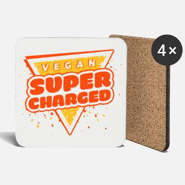 Vegan Supercharged - Coasters