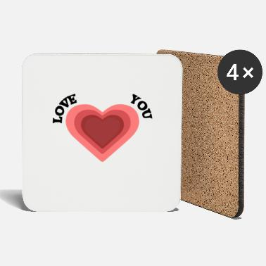 Proof Of Love Love you - Coasters