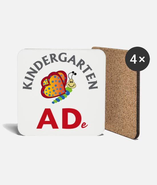Kindergarten Mugs & Drinkware - Kindergarten - ADe 1 - Coasters white