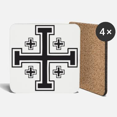 Jerusalem Jerusalem Cross - Coasters