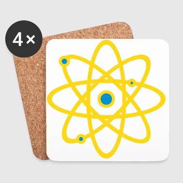 Atom - Coasters (set of 4)