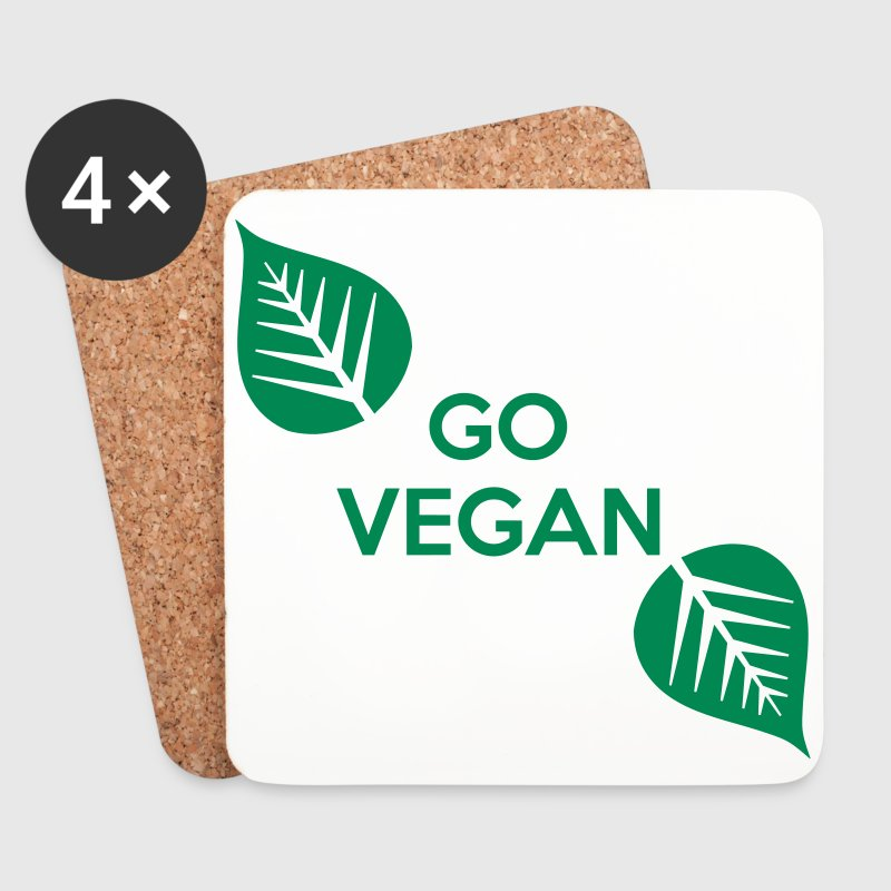Go Vegan - Coasters (set of 4)