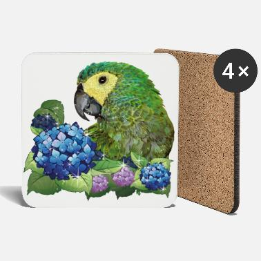 South America Red-Macaw Macaw - Coasters