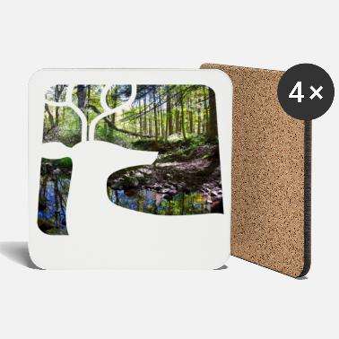 Forest Dweller Forest dweller forest photography - Coasters