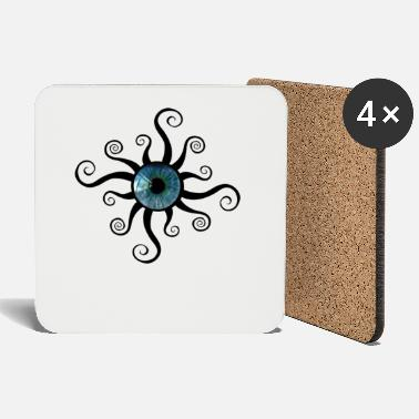 Pupil-eye Eye pupil - Coasters