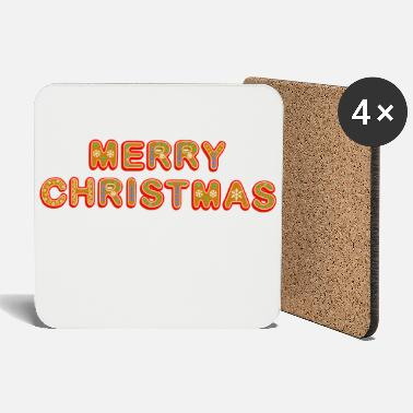 Christmassy Merry Christmas - Coasters