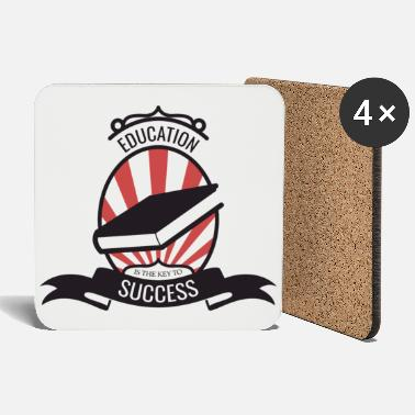 Education Culture Student Education Knowledge Cool gift - Coasters