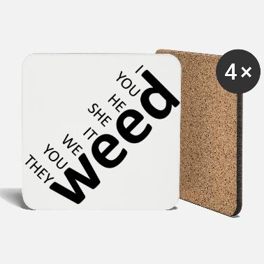 weed together black - Coasters