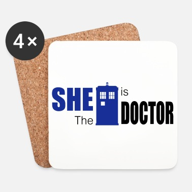 Ovni She is the Doctor - Dessous de verre (lot de 4)