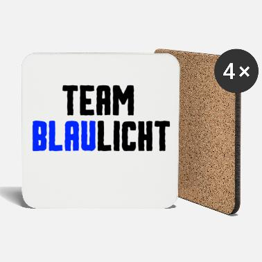 Blue Light Team blue light - Coasters