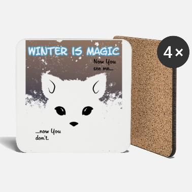 Eisfuchs Hiver Magic Little Snowfall - Dessous de verre
