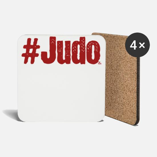 Judo Mugs & Drinkware - #Judo - Coasters white
