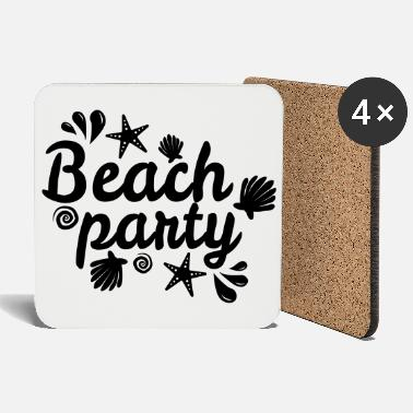 Beach Party - Beach Party Summer Design - Dessous de verre