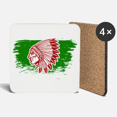American Indian Native American Indians - Coasters