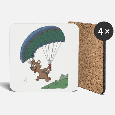 Feet Paraglider launching gift idea - Coasters