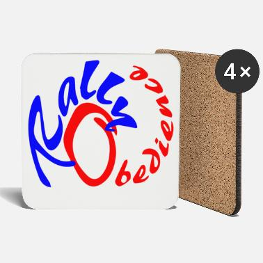 Rally Obedience Rally obedience design for dog sport with dog - Coasters