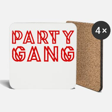 Party Party Gang Team - Untersetzer