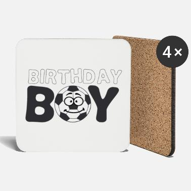 Brother Of Birthday Boy Soccer Birthday Boy Birthday for boy boys - Coasters