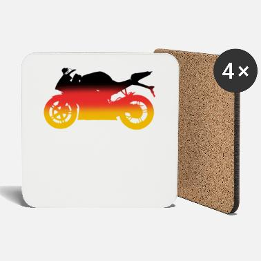 Racing Machine Motorcycle racing machine Germany - Coasters