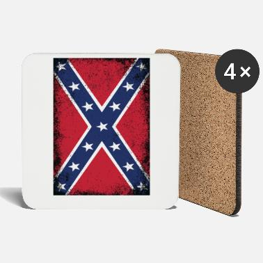 Dixie Confederate States of America Flag Southern States - Coasters