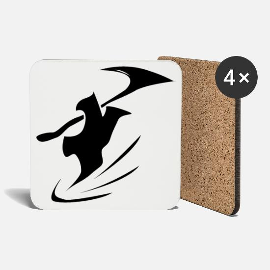 Gift Idea Mugs & Drinkware - Reaper - Coasters white