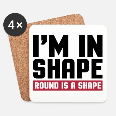 Shape I'm In Shape  - Lasinalustat (4 kpl:n setti)