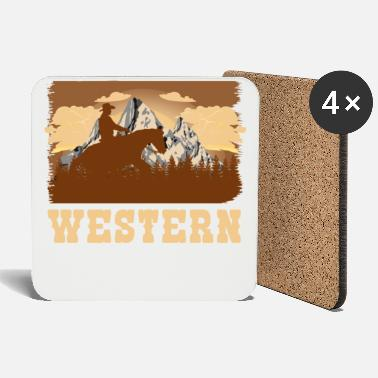 Western Riding Western riding - Coasters