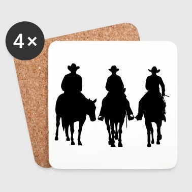 Trio - Western riding - Coasters (set of 4)