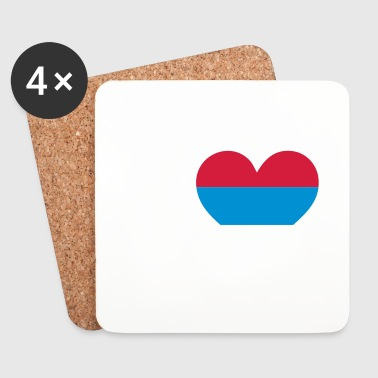 I love Serbia - Coasters (set of 4)