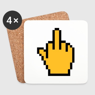 Middle finger - Coasters (set of 4)