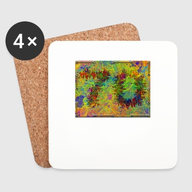 70th birthday - Coasters (set of 4)