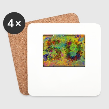 50th birthday - Coasters (set of 4)