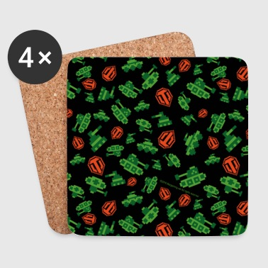 World of Tanks - Pixel Tanks Cover - Coasters (set of 4)