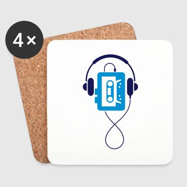 A classic Walkman - Coasters (set of 4)